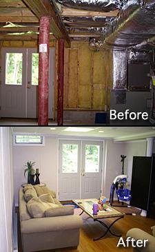 basement remodeling minneapolis. Basement Finishing Before After Photo Remodeling Minneapolis L