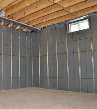 basement to beautiful insulated wall panels inorganic basement wall