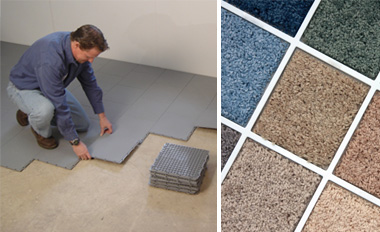 a simple way to protect your basement carpet from mold moisture