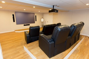 Basement Theater Installed In St. Paul